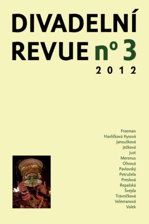 Divadelní Revue 3/2012