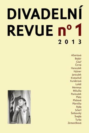 Divadelní Revue 1/2013