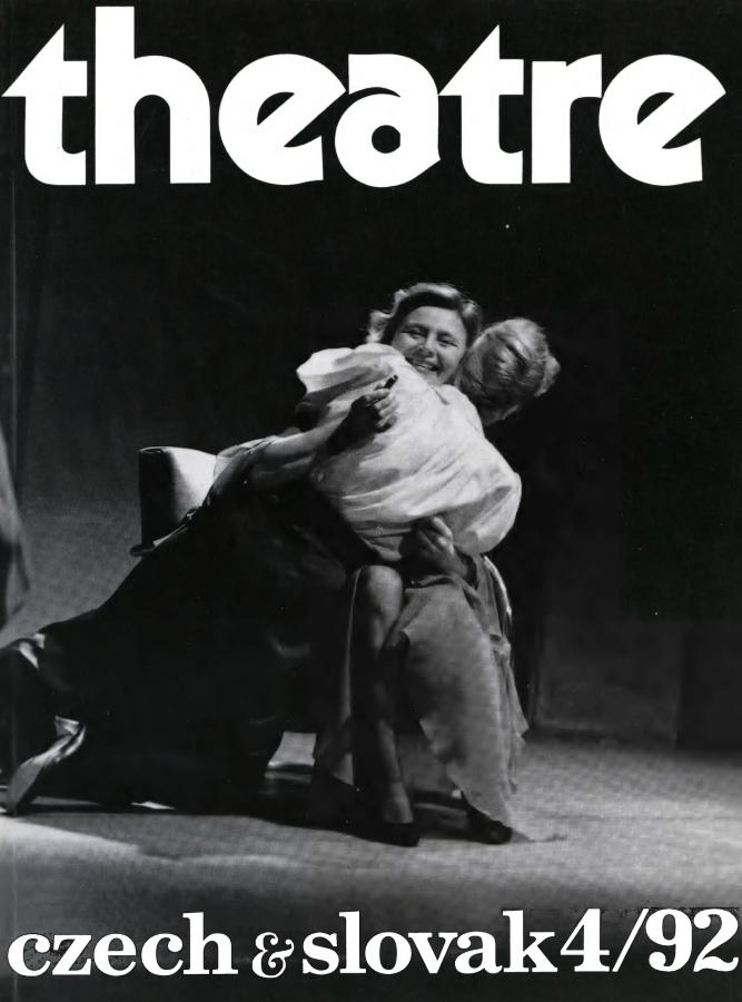 Czech And Slovak Theatre / Théâtre Tcheque Et Slovaque 4