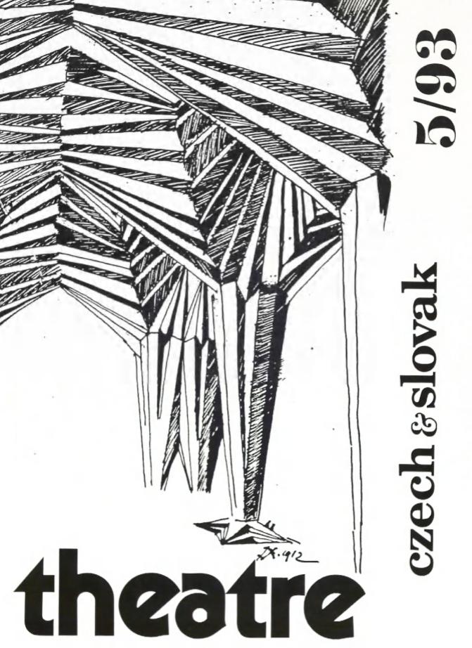 Czech And Slovak Theatre / Théâtre Tcheque Et Slovaque 5