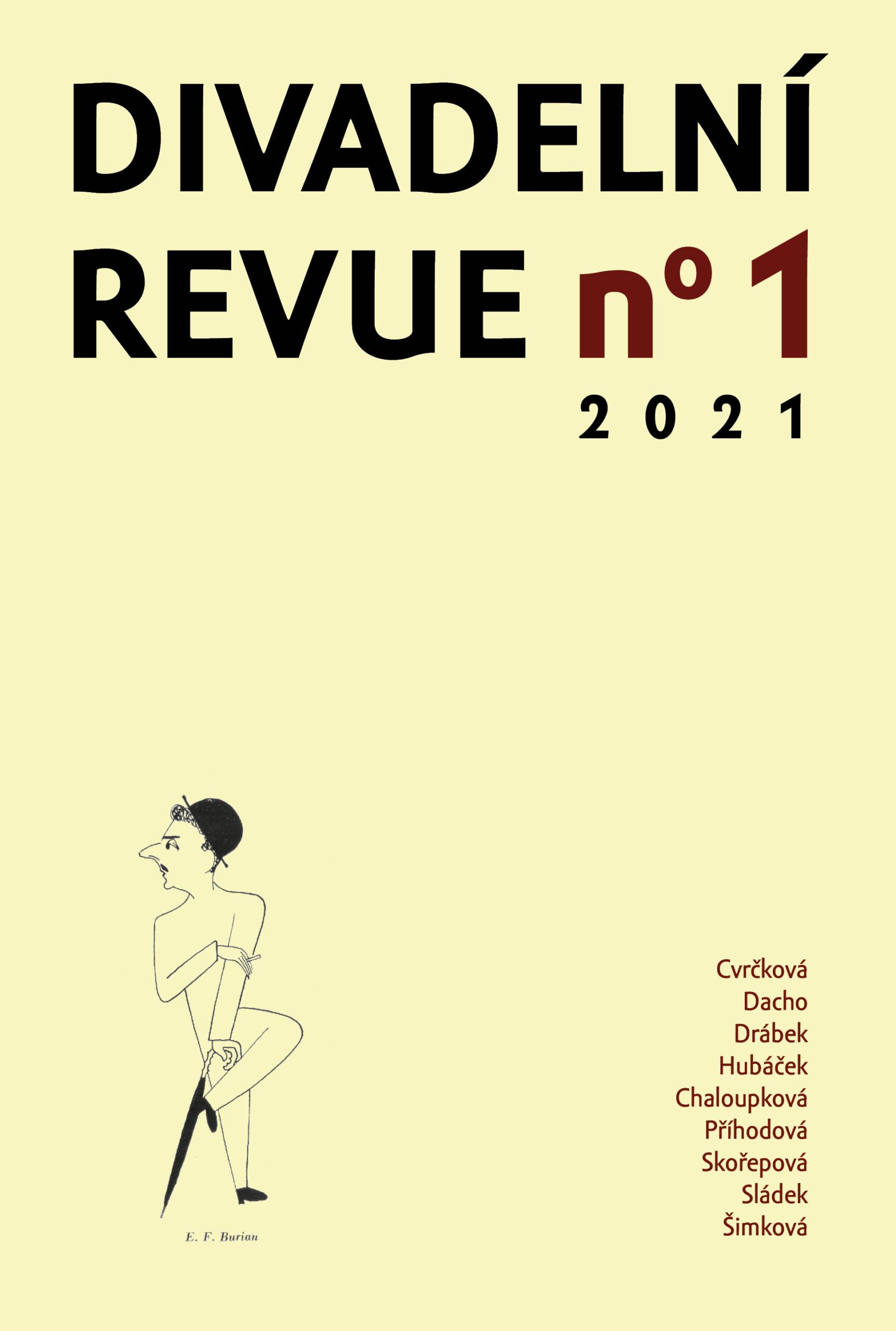 Divadelní Revue 1/2021
